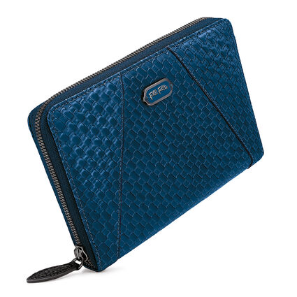 FLOWERBALL WALLET, Blue, hires