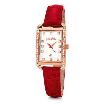 Style Swing Reloj, Red, hires
