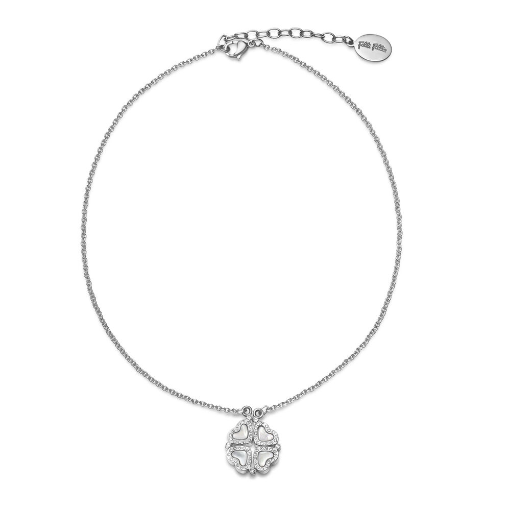 Heart4Heart Silver Plated Short Necklace , , hires