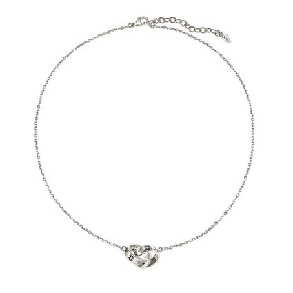 Love & Fortune Silver Plated Short Necklace, , hires