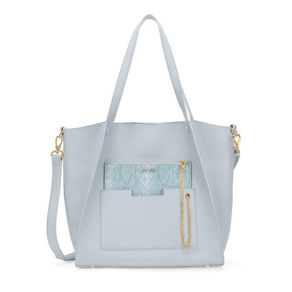 On The Go Τσάντα Ώμου με extra pouch, Blue, hires
