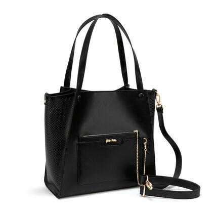 On The Go Large Shoulder Bag , Black, hires