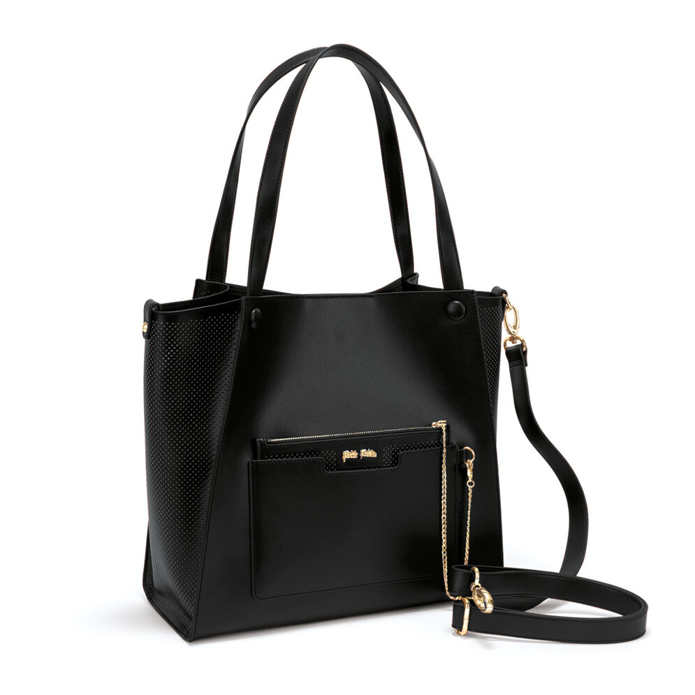 On The Go Large Shoulder Bag , Black, hires