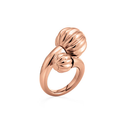 Style Fairy Rose Gold Plated Δαχτυλίδι, , hires
