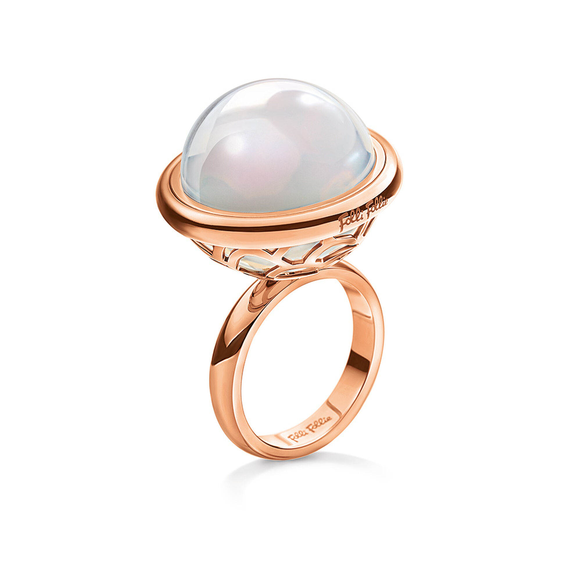 moonstone concept new peach wedding ring of rings
