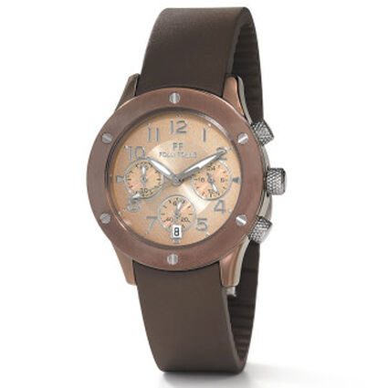 Ace Small Case Bracelet Watch, Brown, hires