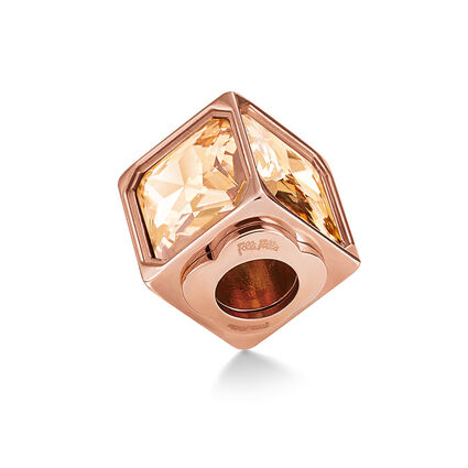 Playful Emotions Rose Gold Plated  Confidence Pendant, , hires