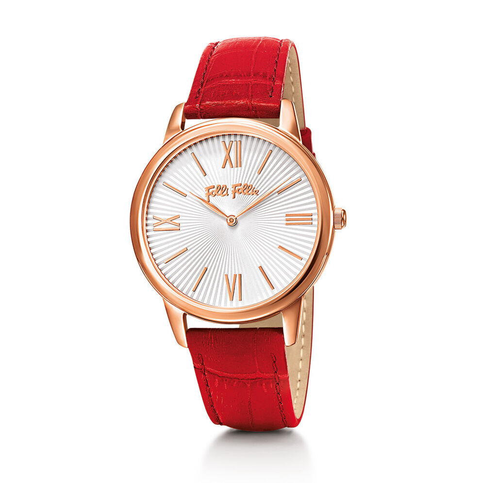 Match Point Watch, Red, hires