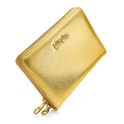 SMALL GOODS WALLET, Gold, hires