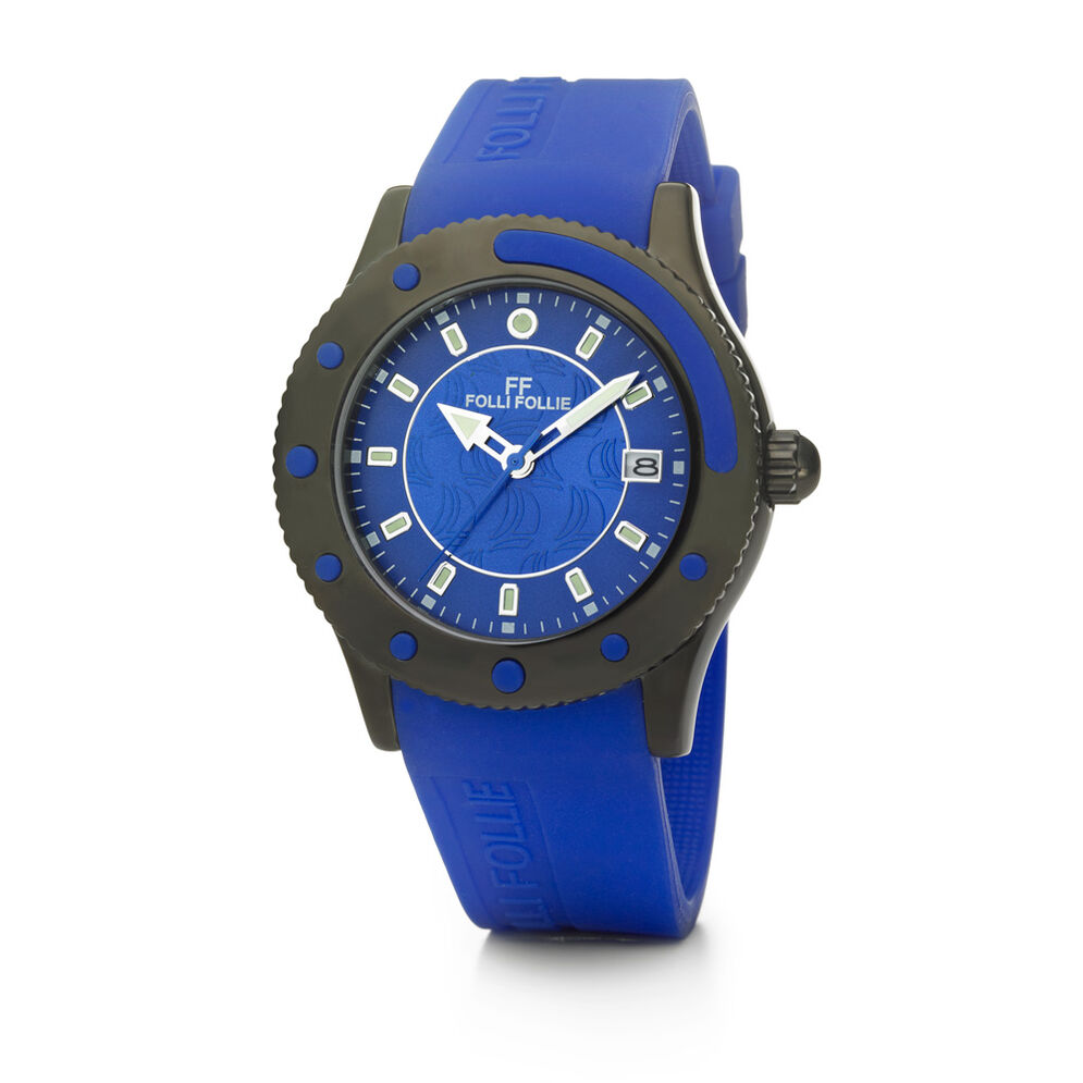 MINI Water Champ Watch, Blue, hires