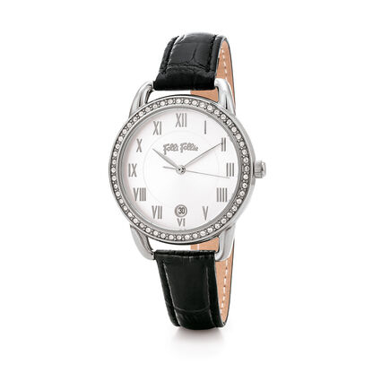 Vintage Candy Reloj, Black, hires