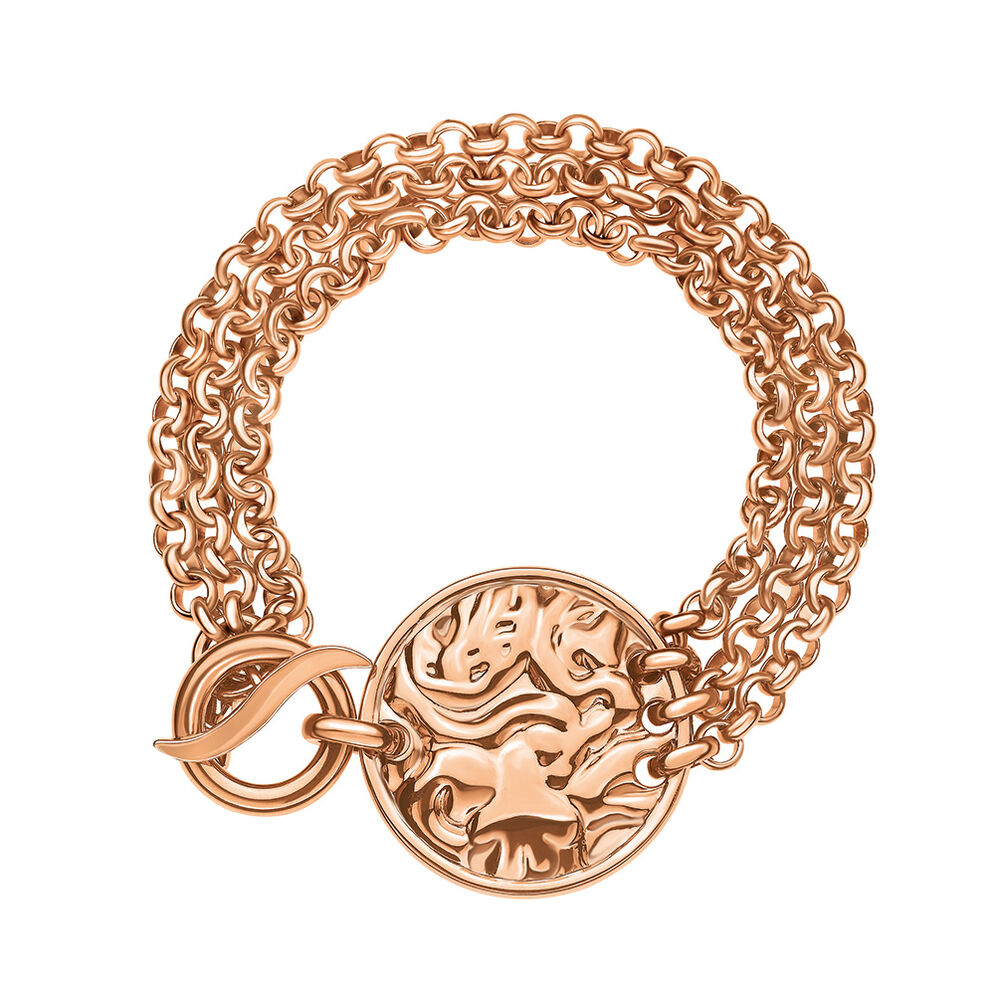 Coin Vintage Rose Gold Plated Βραχιόλι, , hires