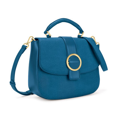 Cyclos Medium Shoulder Bag, Blue, hires