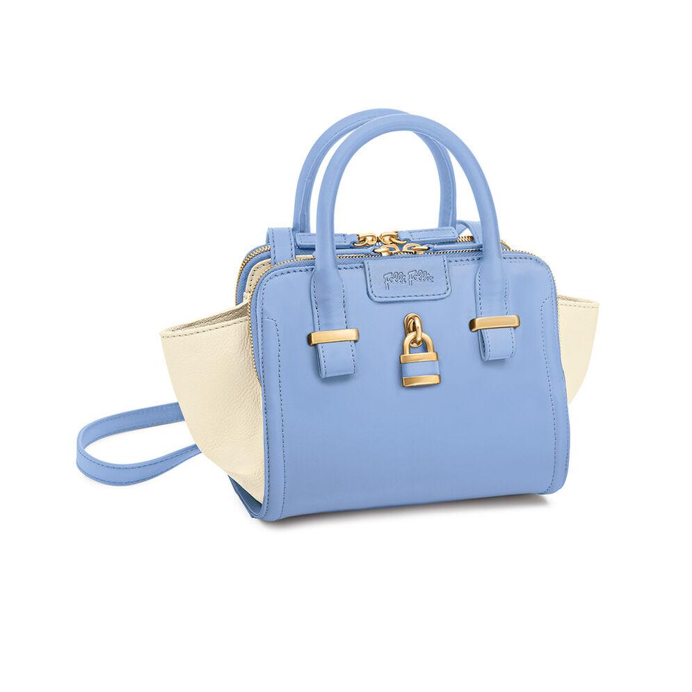 Chichi Lock Δερμάτινη Τσάντα, Blue, hires