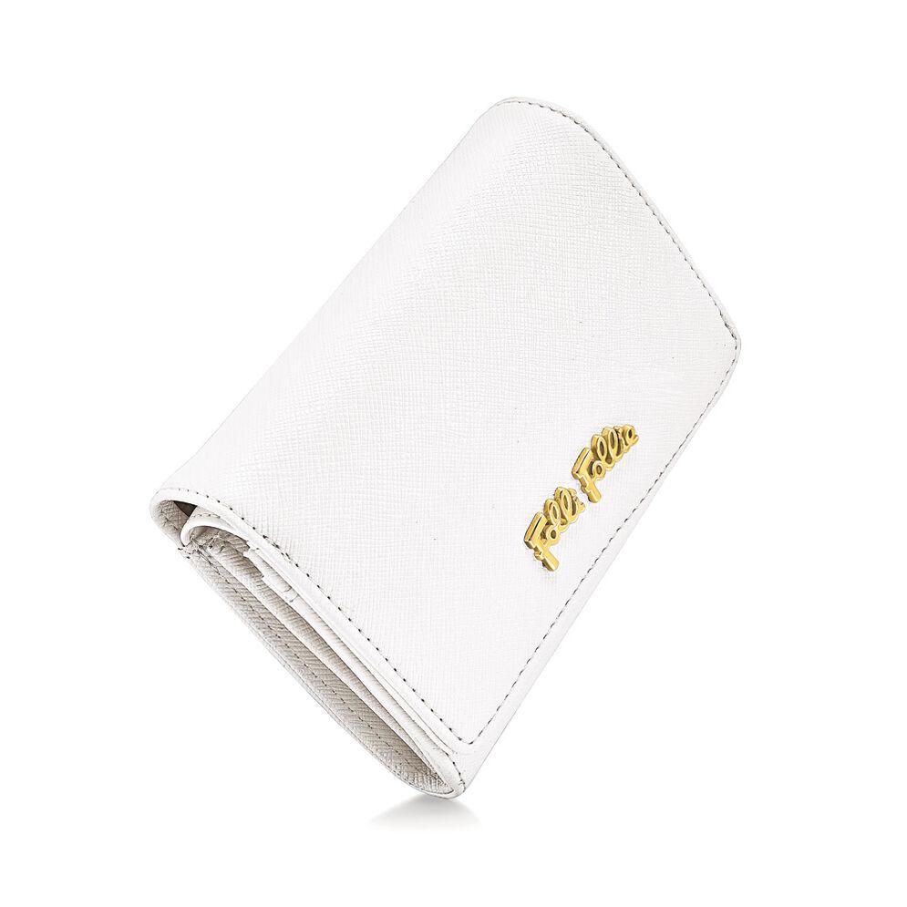 Folli Follie Foldable Πορτοφόλι, White, hires