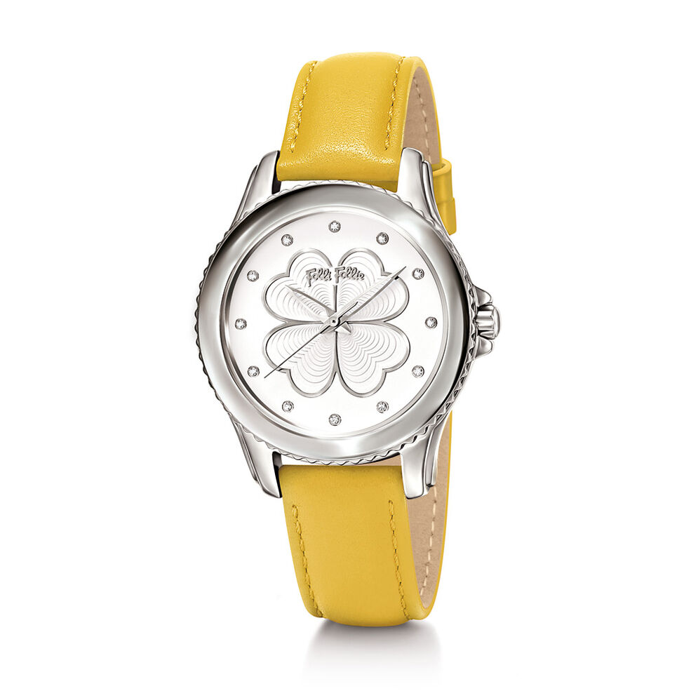 Heart4Heart Watch, Yellow, hires