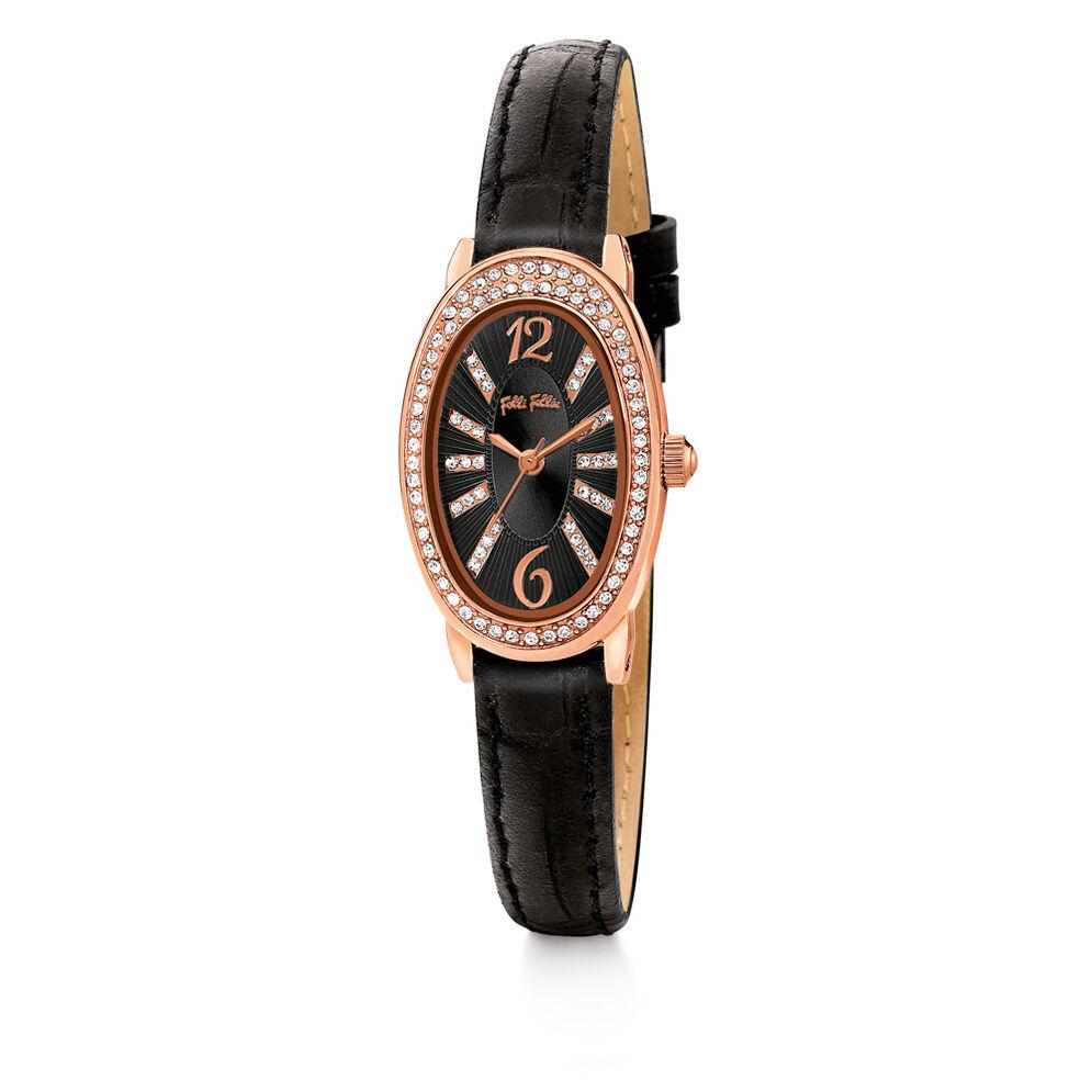 Mini Ivy Watch, Black, hires