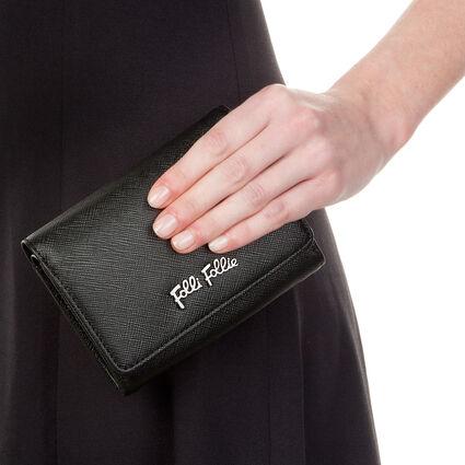 Folli Follie Foldable Πορτοφόλι, Black, hires