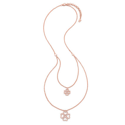 Miss Heart4Heart Rose Gold Plated Short Necklace, , hires
