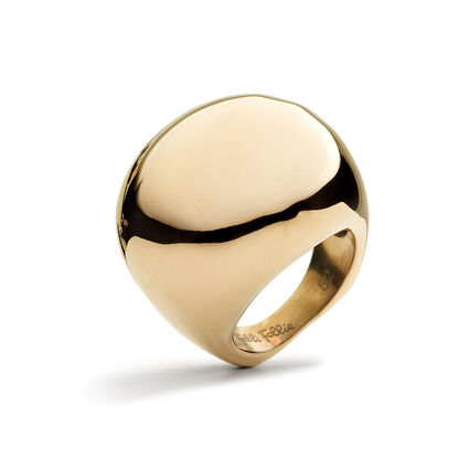 Solid Style Rose Gold Plated Ring, , hires