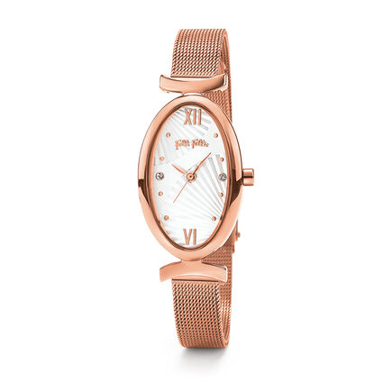 Lady Bloom Watch, Bracelet Rose Gold, hires
