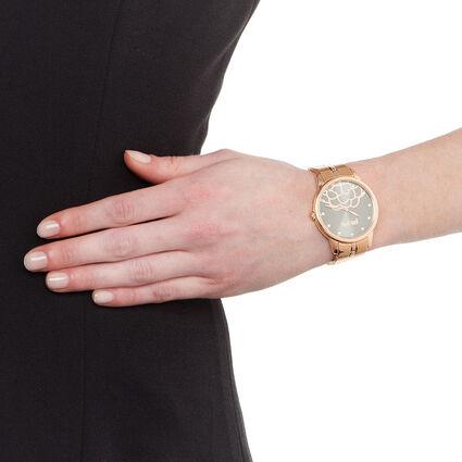 Santorini Flower Watch, Bracelet Rose Gold, hires