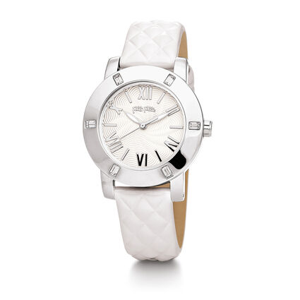 Donatella Watch, White, hires