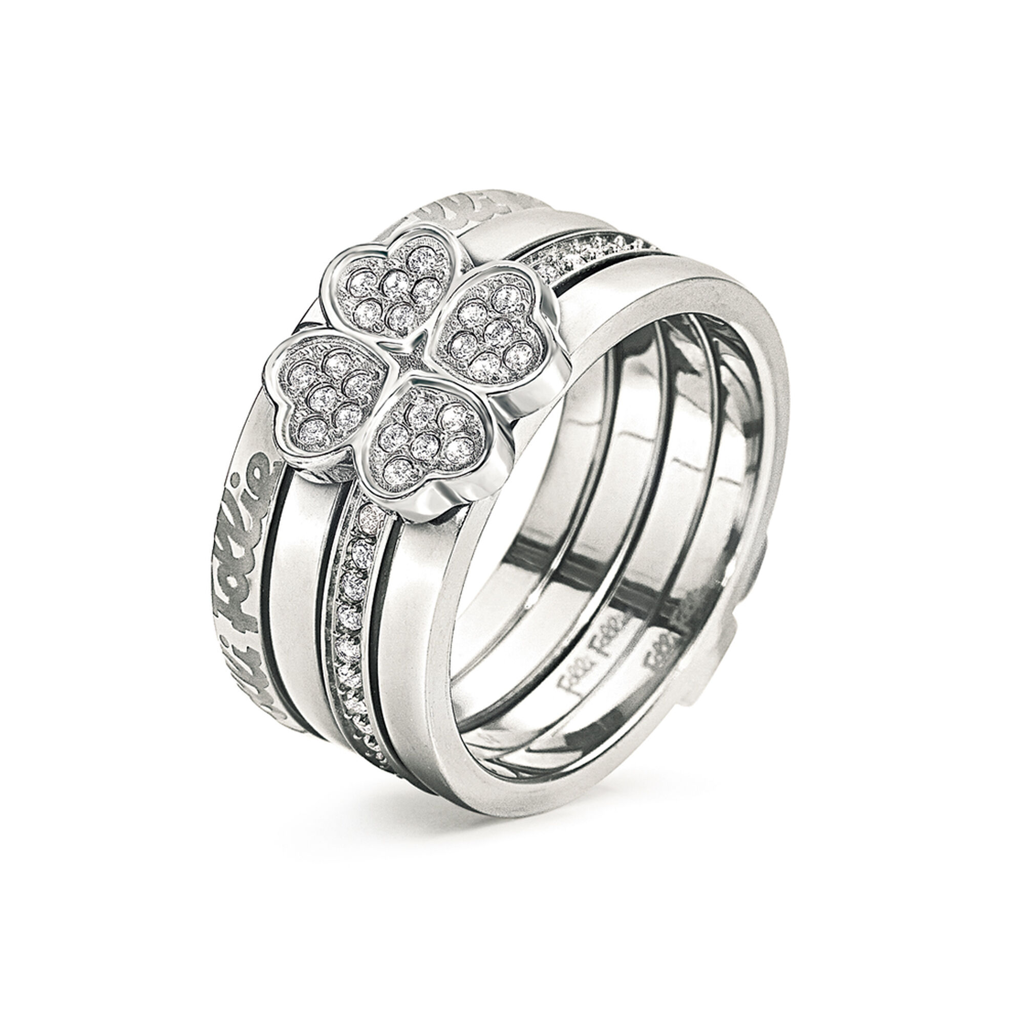 ETERNAL HEART RING Silver Plated