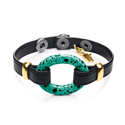 Cuban Dream Line Synthetic Leather Bracelet, , hires