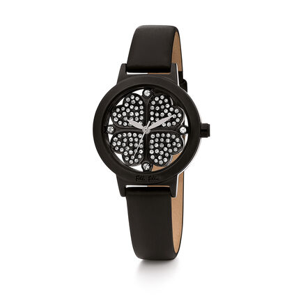 MINI Heart4Heart Watch, Black, hires