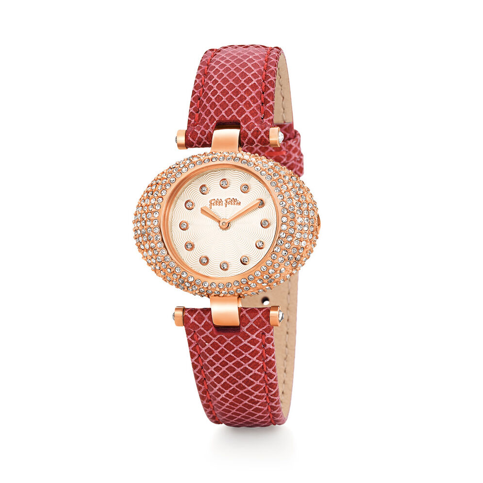 Crystal Nest Watch, Red, hires