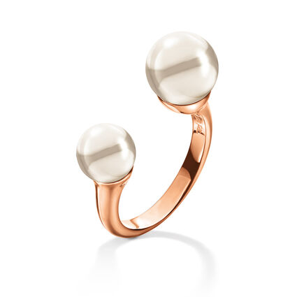 Pearl Muse Rose Gold Plated Δαχτυλίδι, , hires