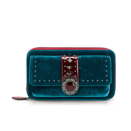 Rock Safari Big Zip Wallet, Blue, hires