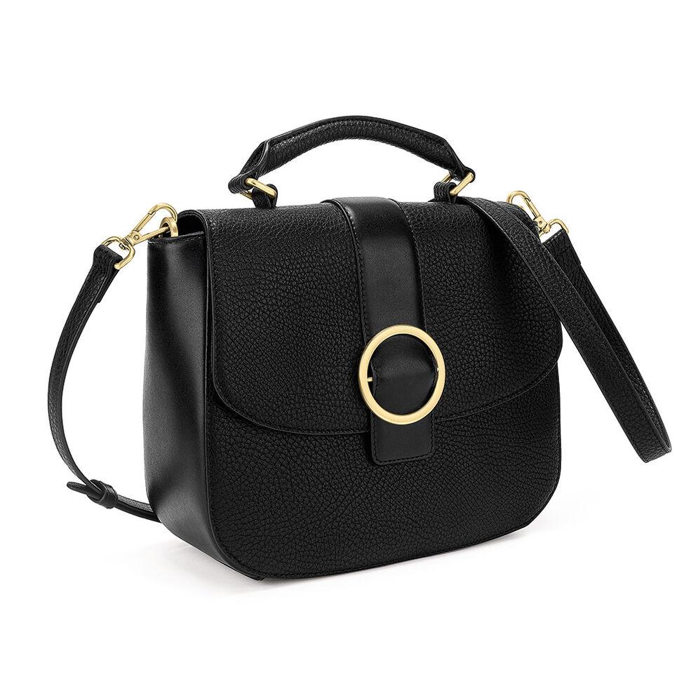 Cyclos Medium Shoulder Bag, Black, hires