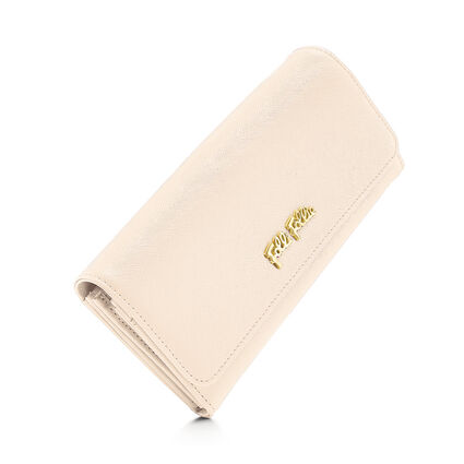 Folli Follie Foldable Cartera, Beige, hires