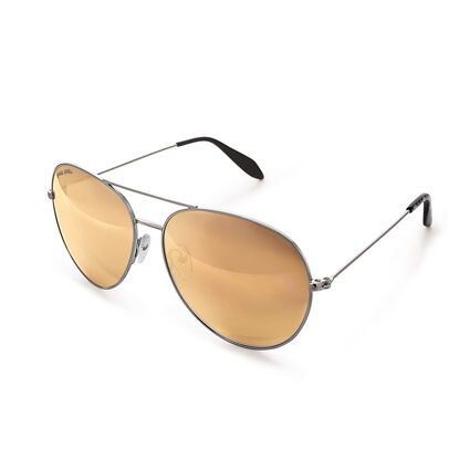 Folli Follie Aviator Style Sunglasses, , hires