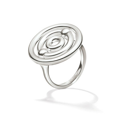 Bonds Silver Plated Small Ring, , hires