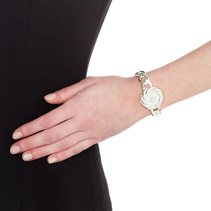 Timeless Chain Watch, Bracelet Silver, hires
