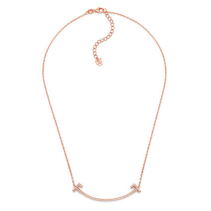 My FF 18kt Rose Gold Vermeil Short Necklace , , hires