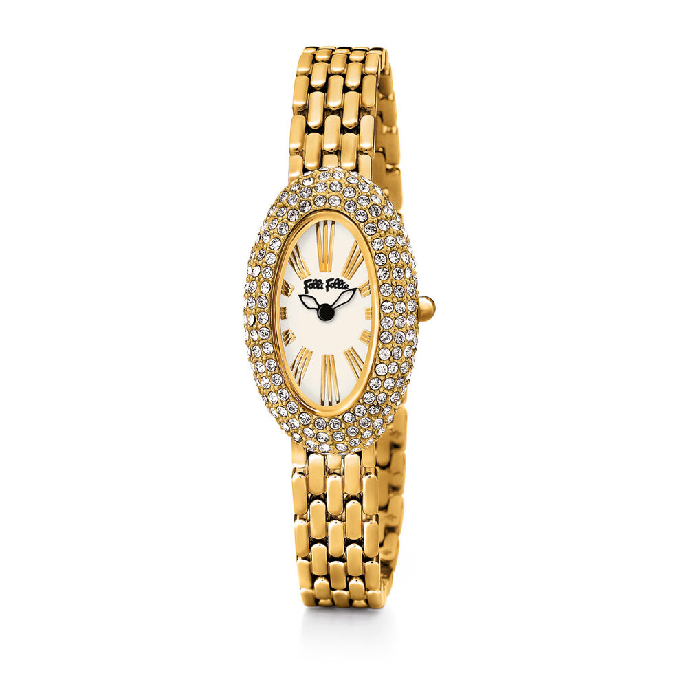 Classy Watch, Bracelet Yellow Gold, hires