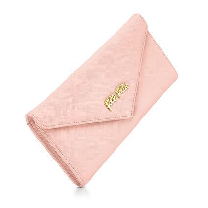 Folli Follie Foldable Cartera, Pink, hires