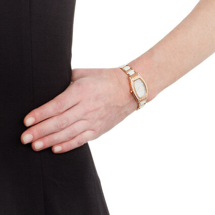 Debutant Watch, Bracelet White, hires
