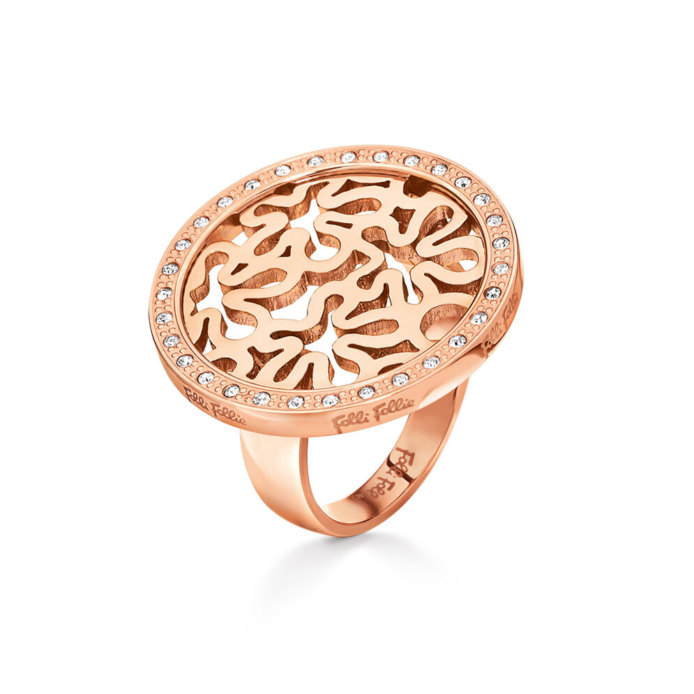 Fiorissimo Rose Gold Plated Μικρό Δαχτυλίδι , , hires