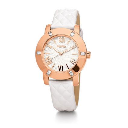Donatella Watch, White, hires