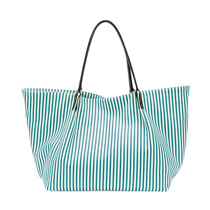 Island Riviera Large Tote Bag, Blue, hires
