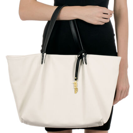 Island Riviera Large Tote Bag, White, hires