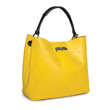 NOMAD LEATHER 肩袋, Yellow, hires