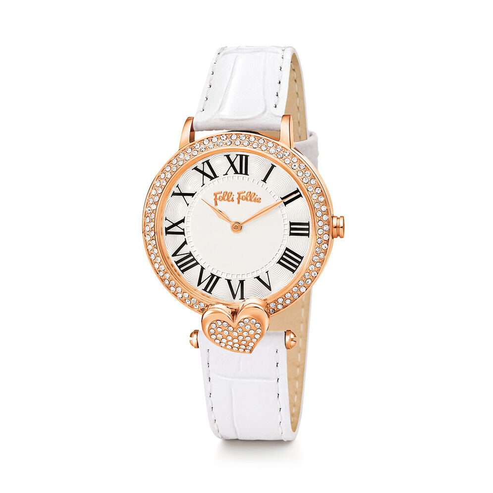 Love & Fortune Watch, White, hires