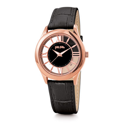 Time Illusion Reloj, Black, hires