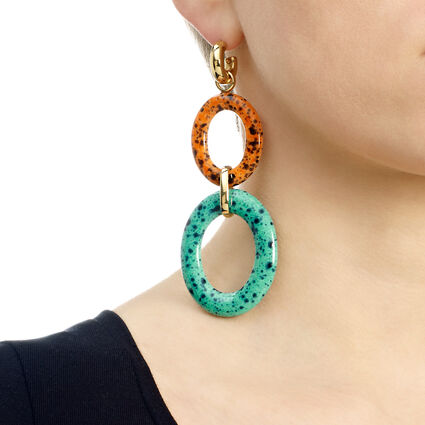 Cuban Dream Line Long Earrings, , hires